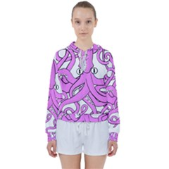Squid Octopus Animal Women s Tie Up Sweat