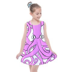 Squid Octopus Animal Kids  Summer Dress by Bajindul
