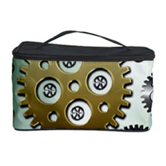 Gear Background Sprocket Cosmetic Storage
