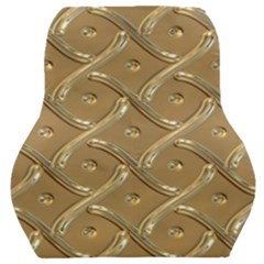 Gold Background Modern Car Seat Back Cushion