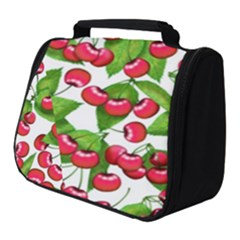 Cherry Leaf Fruit Summer Full Print Travel Pouch (small)