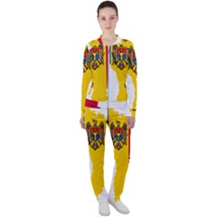 Moldova Country Europe Flag Casual Jacket And Pants Set