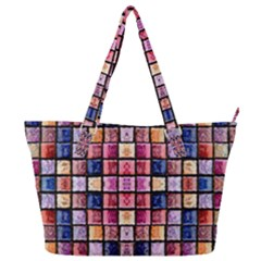 B 8 Full Print Shoulder Bag