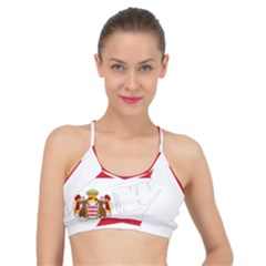 Monaco Country Europe Flag Borders Basic Training Sports Bra by Sapixe