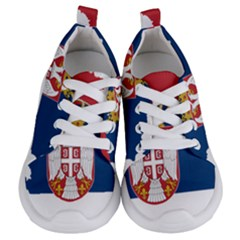 Serbia Country Europe Flag Borders Kids  Lightweight Sports Shoes