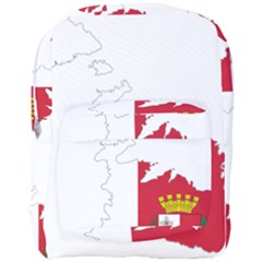 Malta Country Europe Flag Borders Full Print Backpack