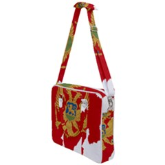 Montenegro Country Europe Flag Cross Body Office Bag by Sapixe
