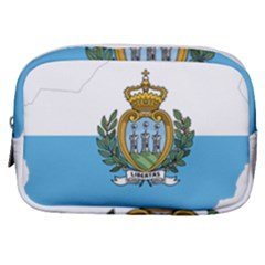 San Marino Country Europe Flag Make Up Pouch (small)