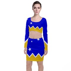 Flag Of Magallanes Region, Chile Top And Skirt Sets