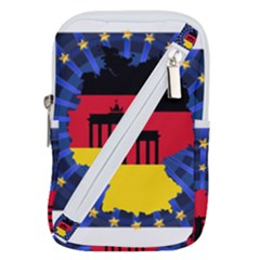 Republic Germany Deutschland Map Belt Pouch Bag (small)