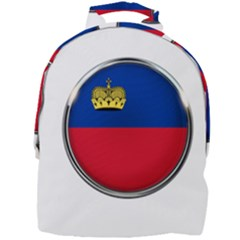 Lithuania Flag Country Symbol Mini Full Print Backpack
