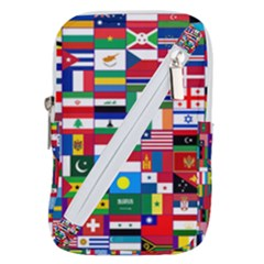 Flags Countries International Belt Pouch Bag (small)