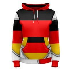 Flag German Germany Country Symbol Women s Pullover Hoodie
