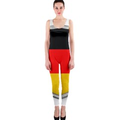 Flag German Germany Country Symbol One Piece Catsuit