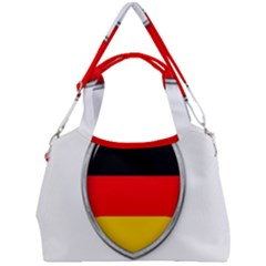 Flag German Germany Country Symbol Double Compartment Shoulder Bag