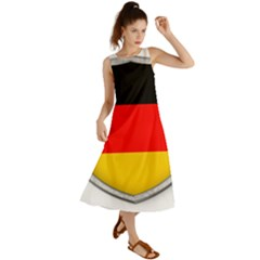 Flag German Germany Country Symbol Summer Maxi Dress