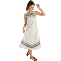 Flag Italy Country Italian Symbol Summer Maxi Dress