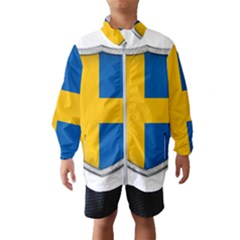 Flag Sweden Country Swedish Symbol Kids  Windbreaker
