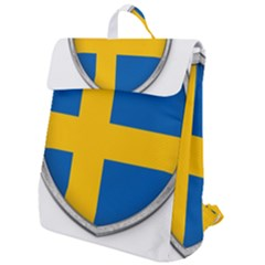 Flag Sweden Country Swedish Symbol Flap Top Backpack