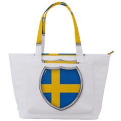 Flag Sweden Country Swedish Symbol Back Pocket Shoulder Bag