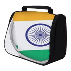 Flag India Nation Country Banner Full Print Travel Pouch (small)