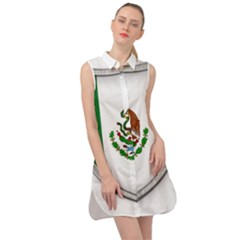 Flag Mexico Country National Sleeveless Shirt Dress