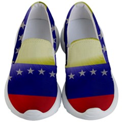 Venezuela Flag Country Nation Kids  Lightweight Slip Ons by Sapixe