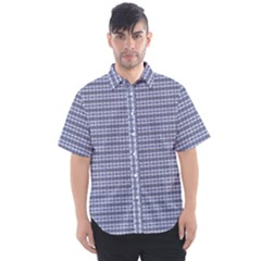 Indigo Men s Short Sleeve Shirt