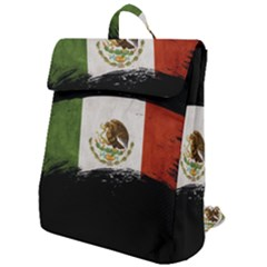 Flag Mexico Country National Flap Top Backpack