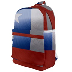 Chile Flag Country Chilean Classic Backpack by Sapixe