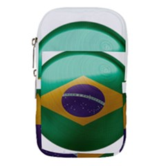 Brazil Flag Country Symbol Waist Pouch (large)