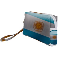 Argentina Flag Country Nation Wristlet Pouch Bag (small)