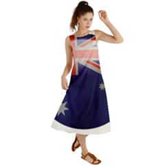 Australia Flag Country National Summer Maxi Dress