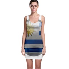 Uruguay Flag Country Symbol Nation Bodycon Dress