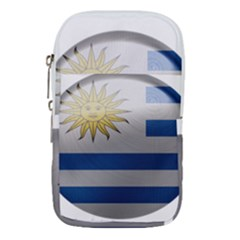 Uruguay Flag Country Symbol Nation Waist Pouch (large) by Sapixe