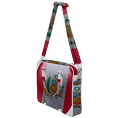 Peru Flag Country Symbol Nation Cross Body Office Bag by Sapixe