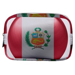 Peru Flag Country Symbol Nation Make Up Pouch (small)
