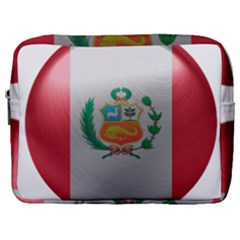 Peru Flag Country Symbol Nation Make Up Pouch (large)