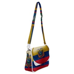 Ecuador Flag Ecuadorian Country Shoulder Bag With Back Zipper