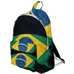 Flag Brazil Country Symbol The Plain Backpack