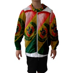 Bolivia Flag Country National Kids  Hooded Windbreaker