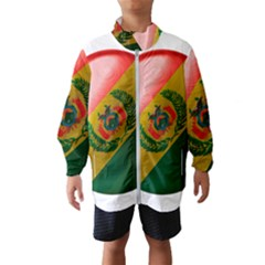 Bolivia Flag Country National Kids  Windbreaker