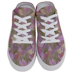 Watercolor Leaves Pattern Half Slippers by Valentinaart