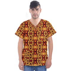D 1 Men s V-neck Scrub Top