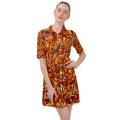 E 5 Belted Shirt Dress by ArtworkByPatrick