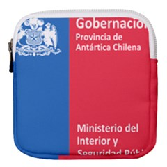 Seal Of Antártica Chilena Province Mini Square Pouch by abbeyz71