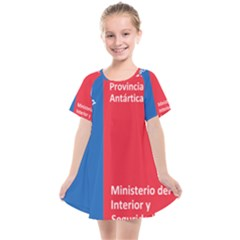 Seal Of Antártica Chilena Province Kids  Smock Dress by abbeyz71