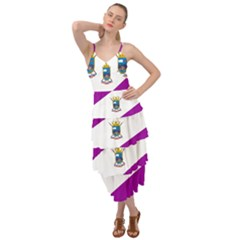 Flag Of Cabo De Hornos Layered Bottom Dress