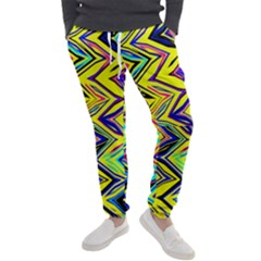 Mycolorfulchevron Men s Jogger Sweatpants by designsbyamerianna