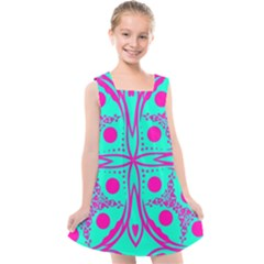 Butterfly Kids  Cross Back Dress by designsbyamerianna